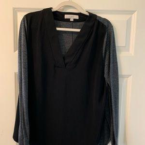 Two toned Loft women's blouse - size M